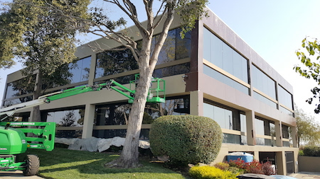 Commercial Painting Project In Burlingame
