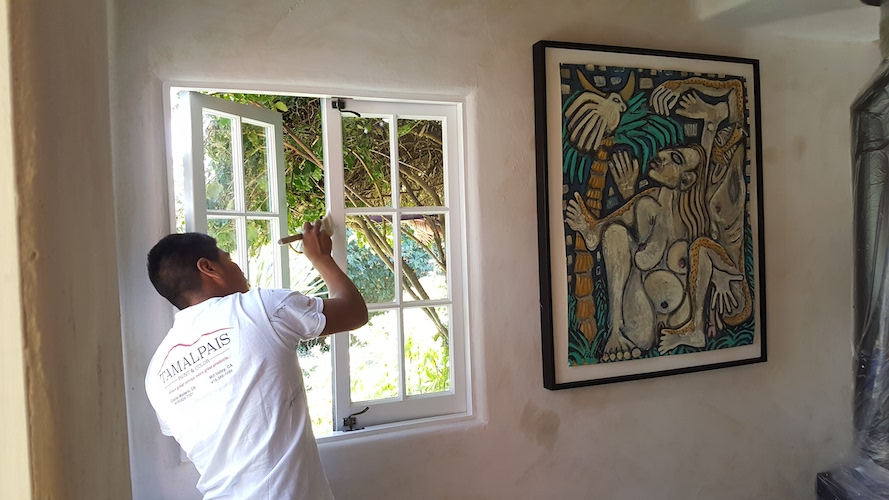 Residential Painting Services - Wooden Buildings